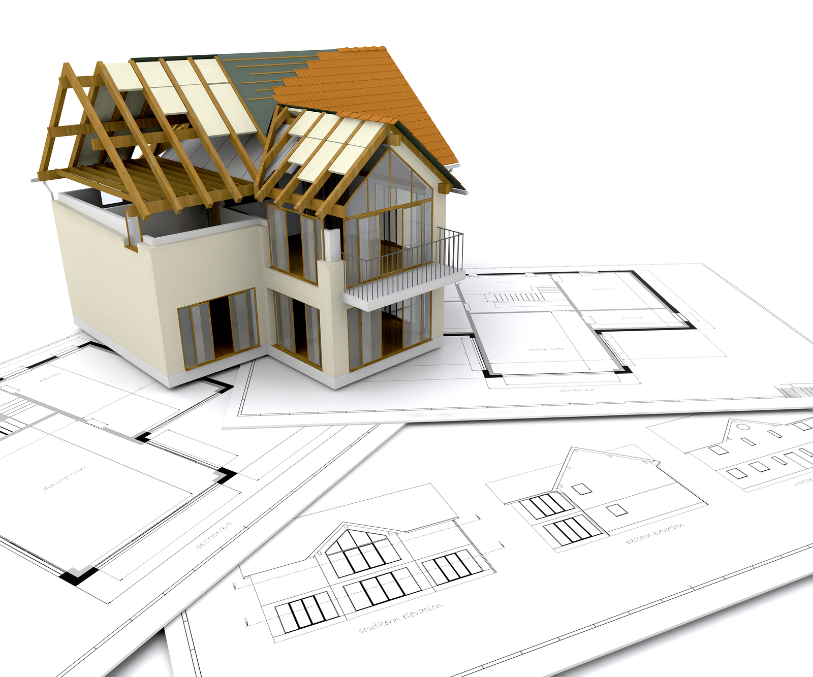 Construction services for Design of building house